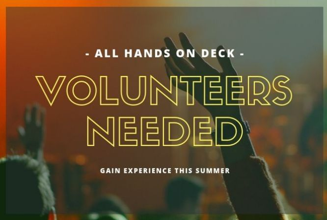 Calling All Volunteers
